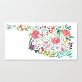 Bloomin' Oklahoma Canvas Print