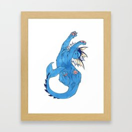 Vaporeon Framed Art Print