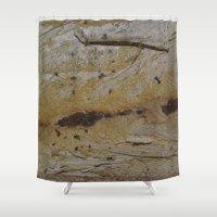 swedish Shower Curtains featuring Swedish wood by ilsephilips