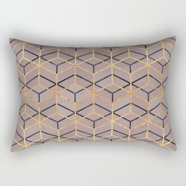 Pretty Geometry 1 Rectangular Pillow