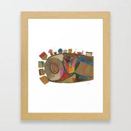 Insemination Framed Art Print