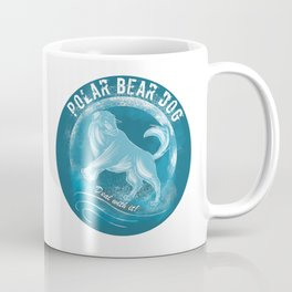 Polar Bear Dog Coffee Mug