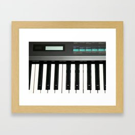 Keyboard Framed Art Print