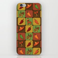 Mexican Squares iPhone & iPod Skin
