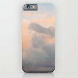 Colourful Sunset Clouds iPhone Case