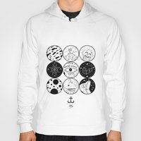 circles Hoodies featuring Circles by LSjoberg