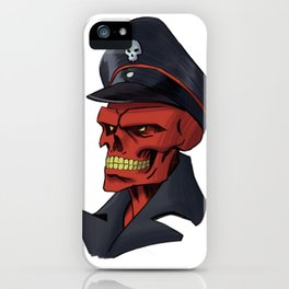 Red or Dead iPhone Case