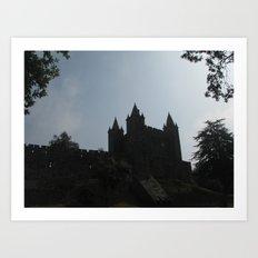 medieval castle Art Print