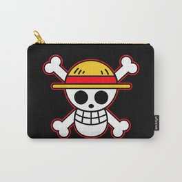 Straw hat Flag Carry-All Pouch