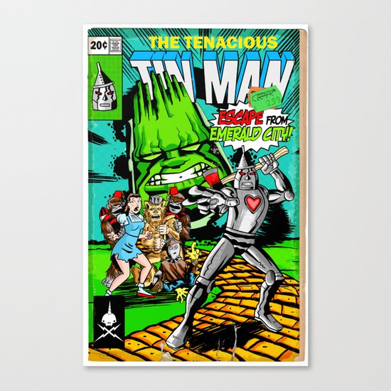 the Tenacious Tinman (COVER VARIANT) Canvas Print