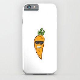 Carrot Halloween Costume Vegetable Cute Carrots iPhone Case