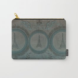 Three Eiffel Towers Carry-All Pouch