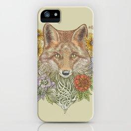 Fox Garden iPhone Case