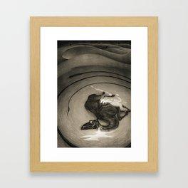 Jackals and Arabs 2 Framed Art Print