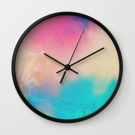 Glitch 06 Wall Clock