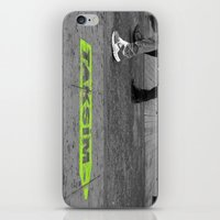 street iPhone & iPod Skins featuring street by habish