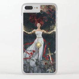 The Magician Clear iPhone Case