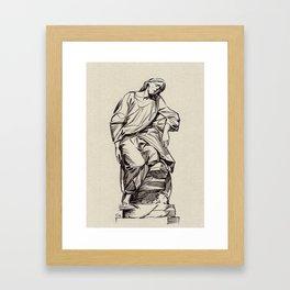Jesus, St-Roch, Paris Framed Art Print