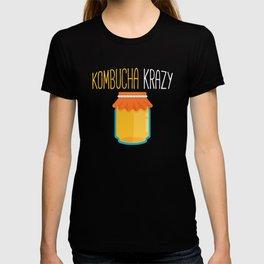 Funny Tea Lover Kombucha Krazy graphic T-shirt
