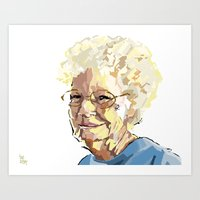Portrait #1 Art Print