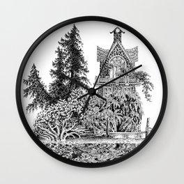 ISLAND HOME REFLECTIONS Wall Clock