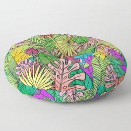 Crystal Jungle Floor Pillow