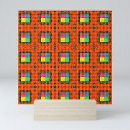 Brouhaha Pattern Mini Art Print