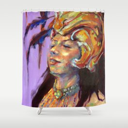 The Headress Shower Curtain