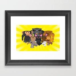 Class Photo Framed Art Print