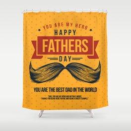 Lovely Artwork for your Superhero Gift Shower Curtain
