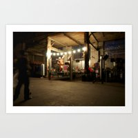 band Art Prints featuring Band by pMWd