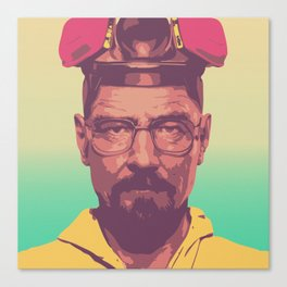 The Master Chemist - Walter White Canvas Print