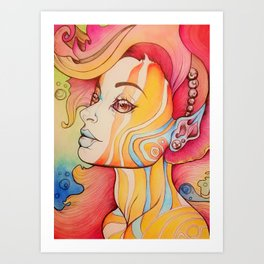 Water Based Art Print