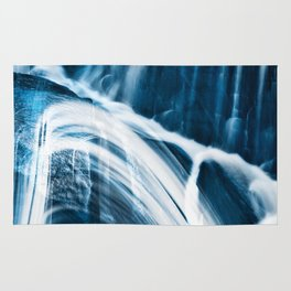 Blue Banshee Falls Rug