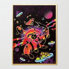 Interdimensional Nishikigoi Canvas Print