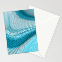 Blue Flow Stationery Cards