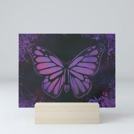 Purple Butterfly Mini Art Print