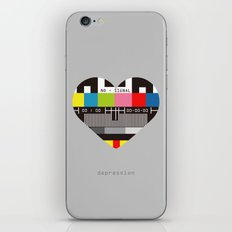 Depression iPhone & iPod Skin