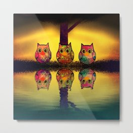 owl-206 Metal Print