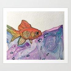 .pesce Art Print