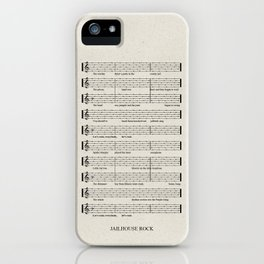 Everybody, let's rock iPhone Case