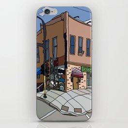 331 Club, Jon Oulman Salon, Modern Cafe - Minneapolis iPhone Skin