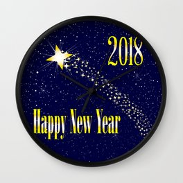 2018 Rising Star Wall Clock