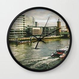 London 11 Wall Clock