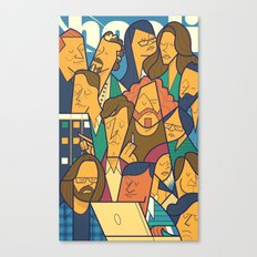 Pied Piper Canvas Print