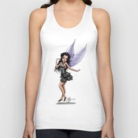 fairy Tank Tops featuring Fairy by Jessica Jimerson