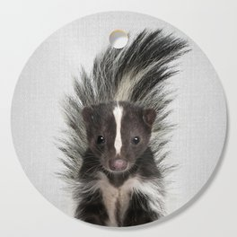 Skunk - Colorful Cutting Board