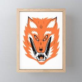 Cursed Fox Framed Mini Art Print