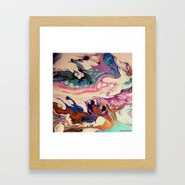 earth intruders Framed Art Print