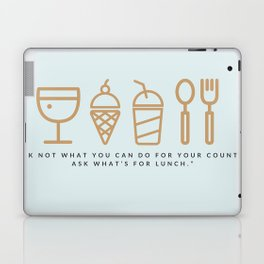 ASK WHAT'S FOR LUNCH Laptop & iPad Skin